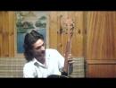 Ремонт лопатки грифа черной гитарки