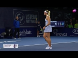 Виттхёфт - ПарментьеWitthoeft - Pauline. Обзор матча.Теннис WTA. 20.10.2017