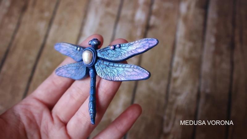 Medusa Vorona - Синяя стрекоза большая