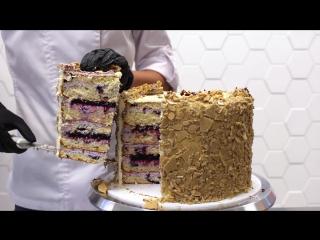 Разборка торта