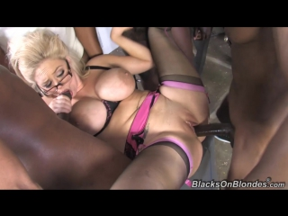 [blacksonblondes] katie kox [hd 720, 5 on 1, big tits, black, blonde, blowjob, cumshot, dpp, facial, gangbang, interracial, sex]