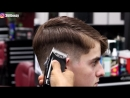 HAIRCUT TUTORIAL- COMBOVER - LOW FADE - HARD PART - BLOW DRY  STYLE