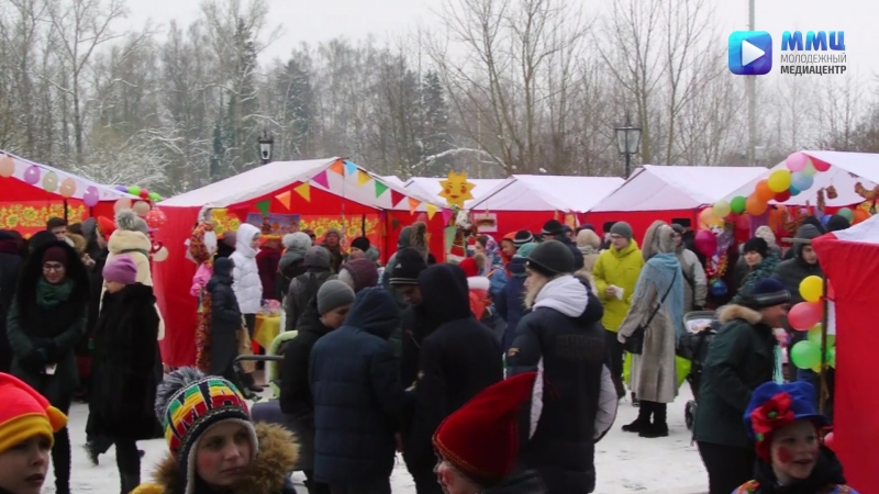 Масленичная ярмарка в Школе №4 им. Г. К. Жукова.