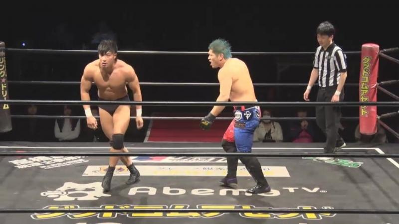 Keisuke Okuda Kengo vs Yuki Ueno Koju Takeda DDT DNA 42