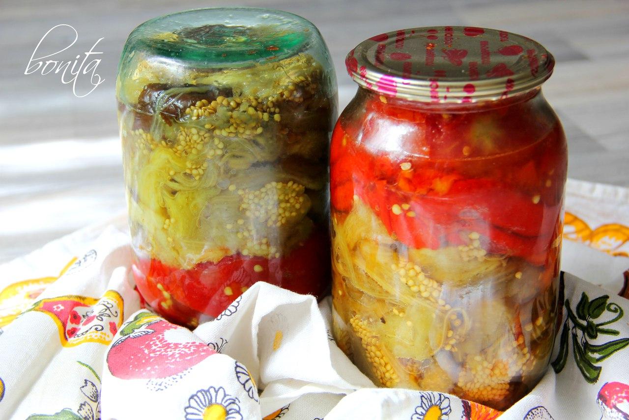 Заготовка из баклажан на зиму для приготовления различных закусок