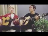 Песня Сережа 💓Поют песню Даниил Дроник и Влад Феничко