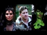 Regina/Queen - Prince Charming - Zelena/Witch