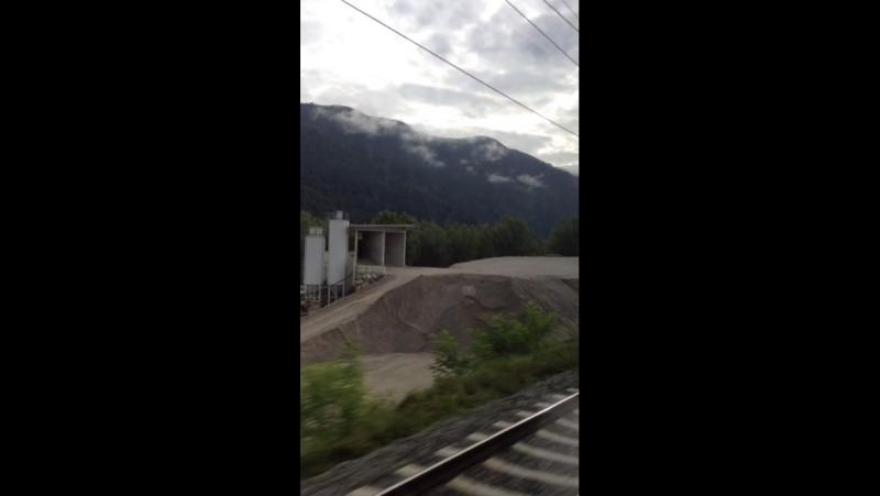 20 минут по австрийским железным дорогам OBB