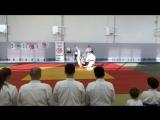 """Показательное выступление школы """"Ryuoshinkan Dojo"""" на семинаре Андо Тсунео (8 Дан Айкидо Ёсинкан) в г.Новосибирске. 25.02.18г."""