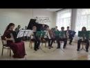 Александра Михайлова и оркестр баянистов школы-искусств г.Медвежьегорска