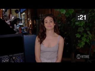 Hot minute with Emmy Rossum   Shameless   8 season   Горячая минута с Эмми Россум   Бесстыжие   Бесстыдники   8 сезон