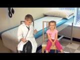Дети играют в доктора - Правила поведения у врача