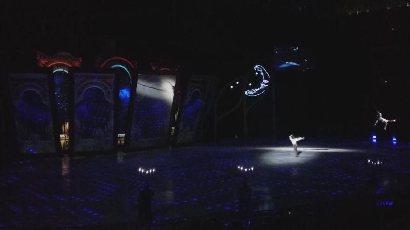 Фрагмент мюзикла на льду Татьяны Навки ,, Руслан и Людмила
