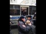 Задержание Навального 28 января