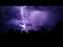 Lightning strike captured near Clermont in Central Queensland!