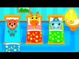 Мультик для малышей- Детский сад для зверят Развивающий мультфильм для детей. Kindergarten cartoon