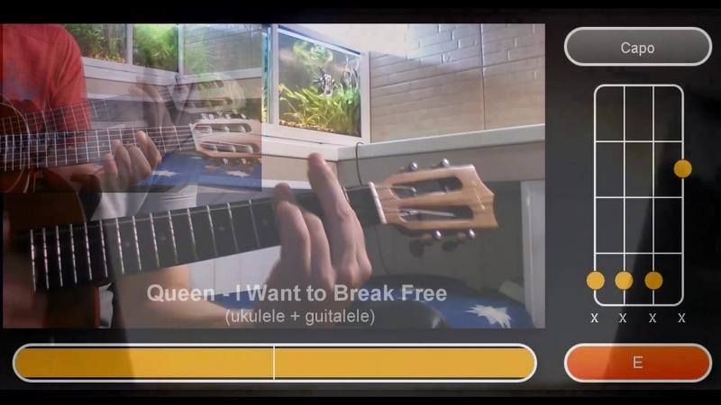 Queen - I Want to Break Free (ukulele guitalele)