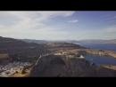 Эпический кадр из Линдос - Родос - Греция