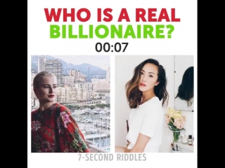 Who is a real billionaire?😃