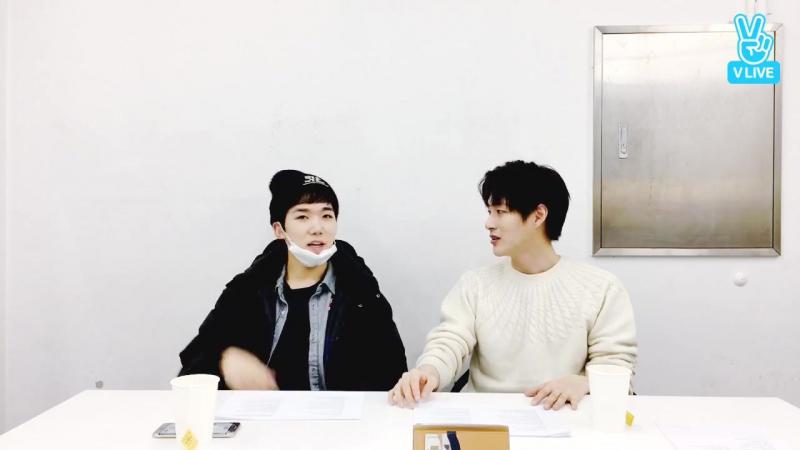 [V LIVE] 171122 Minwoo-hyung's Talk Show: Generation of Empathy Talk