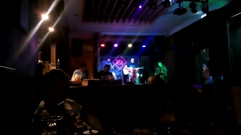 Байк -рок-группа Виски Дождь, кафе Nota Bene, 30 сентября 2017