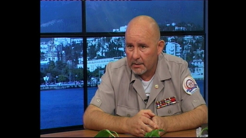 Ялта ТВ- гость в студии в Владимир Бабко 21 08 17