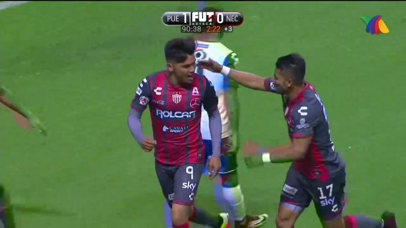 Мартин Барраган, классный гол из чемпионата Мексики