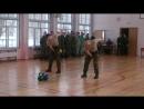 Строевая песня и легкие 2-ухпудовые гири курсантов ВКА им. А.Ф. Можайского
