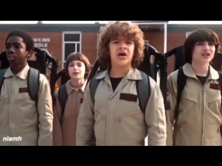 mike wheeler x dustin henderson x lucas sinclair x will byers » ` strangers things vine