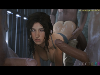 Tomb Raider Lara Croft sex compilation-1 3D porn