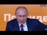 Путин о допуске Навального на выборы
