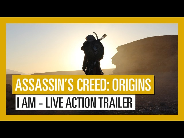 Assassin's Creed Origins: I AM live action trailer