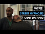 STREET HYPNOSIS // Rapid Hypnosis Goes Wrong!