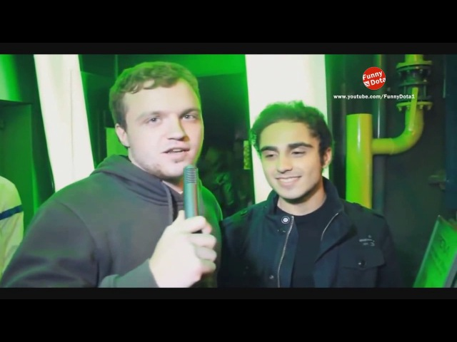 Dota 2 players(n0tail, KuroKy, Puppey) speaking russian. n0tail, KuroKy, Puppey говорят на русском