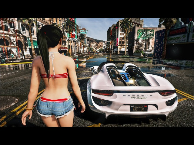 GTA V NEXT-GEN Graphics 2017 | Project NVRX | Ultra Realistic Graphics MOD