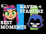 Teen Titans Go! | Best Raven and Starfire Moments | Cartoon Network