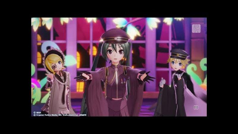 【PS4 DIVA X HD】カオス・メドレー ~ギガリミックス~【初音ミク:壱ノ桜・桜