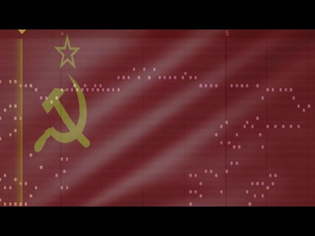 Musical World Map USSR meme remake
