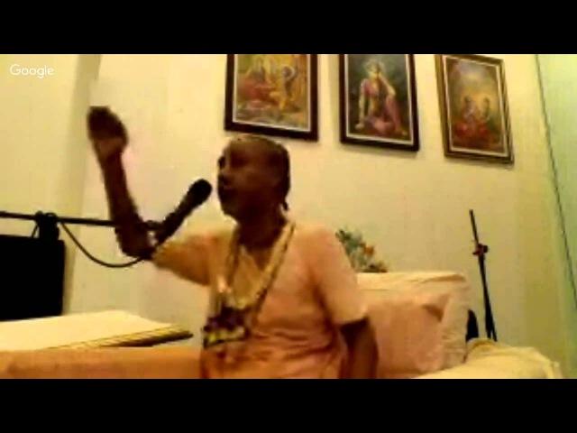 Шрипад БВ Мадхава Махарадж 29.12.2015 - Лекция