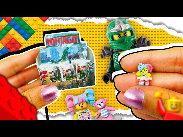 DIY Miniature LEGO NINJAGO Blind Bags For LOL Dolls ❤️ Barbie, Shopkins, LPS, Little Pony
