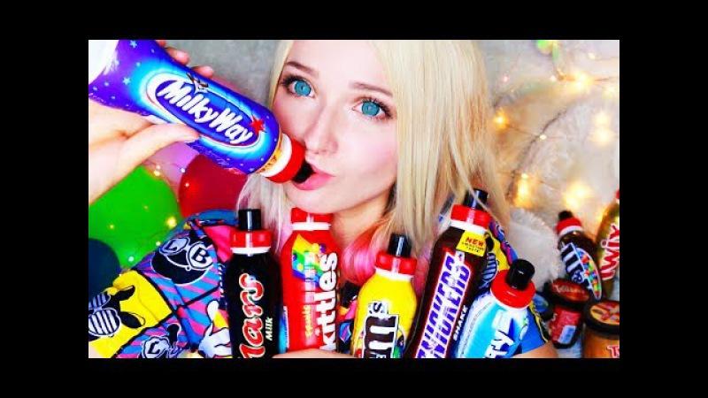 ЖИДКИЕ КОНФЕТЫ няма свасти джи пробует жидкие конфеты
