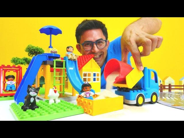 Nail Baba Lego'dan OYUNCAK ŞEHRİ kuruyor! Kumla eğlenceli oyunlar. Anasınıf oyunları bizimle oyna