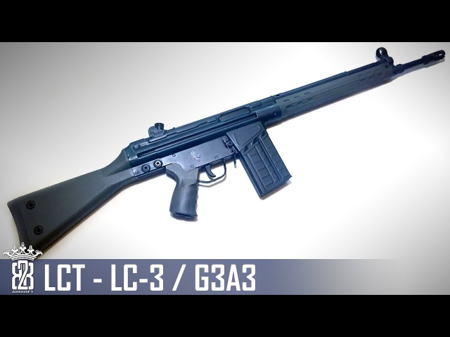 *Airsoft Review * LCT LC-3 G3A3 | English Subtitles - Deutsch