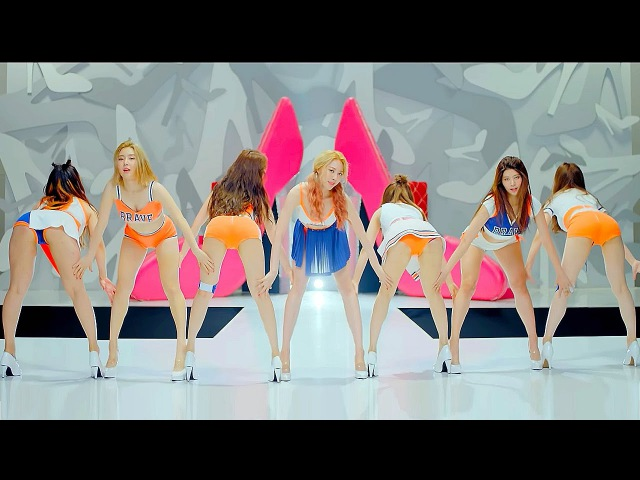 HOT BRAVE GIRLS 브레이브걸스 High Heels 하이힐 @ Dance 안무 M V