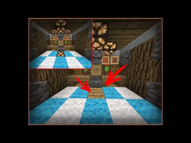 ✔СКРЫТОЕ ОСВЕЩЕНИЕ В Minecraft PE (Механизмы в майнкрафт пе)