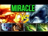 Miracle- Dota2 Ember Spirit vs Morphling- Art of Juke &amp Dodge