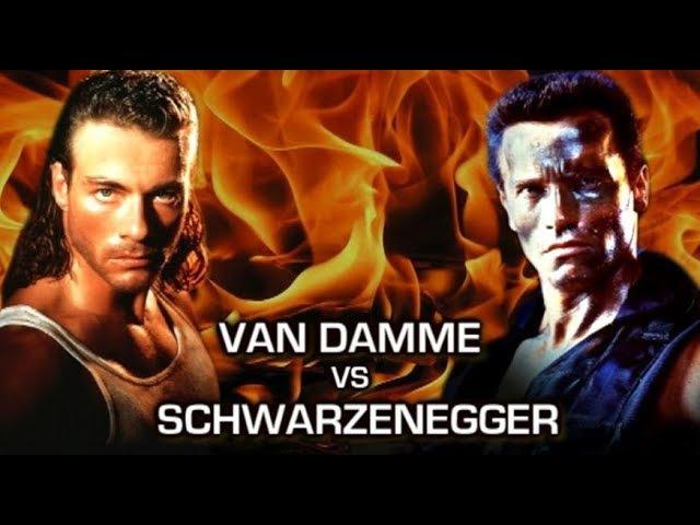 Van Damme VS Arnold Schwarzenegger - Fan Edit
