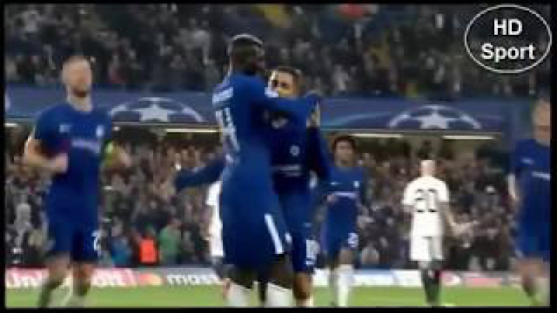 Chelsea 6 x 0 Qarabag UEFA Champions League 12/09/2017 HD