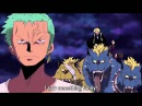 One Piece funny sanji Mocking Zoro