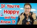If You're Happy and You Know It   Fun Movement Song for Kids   Jack Hartmann